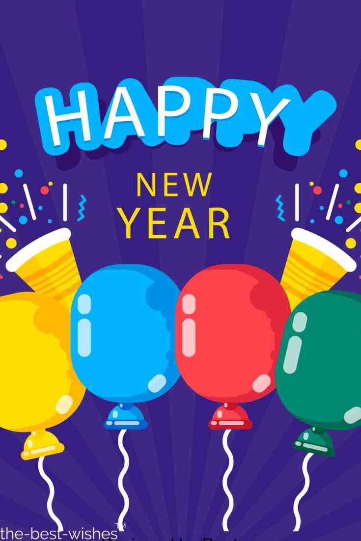 celebrating new year image