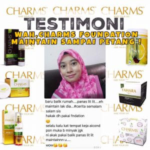 Charms Foundation dan Starglow Fairy Face Scrub