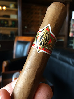 CAO Gold Robusto cigar 1