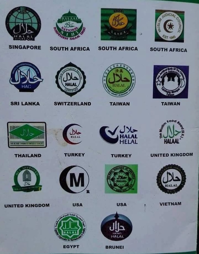 Gambar Logo Halal Dari Seluruh Negara