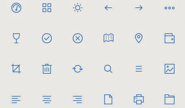17 Free High-Quality Simple Icon Sets