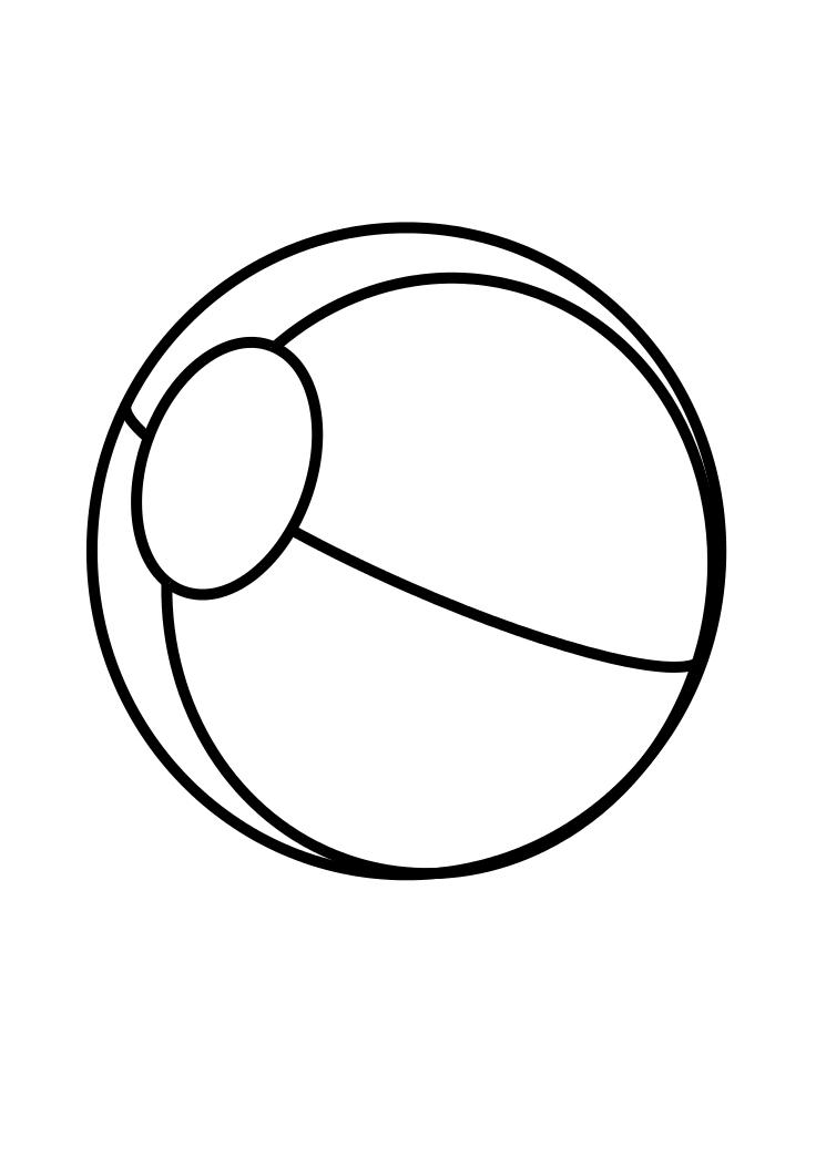 ball coloring pages - photo#34
