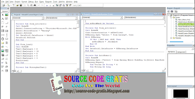 Download Gratis Source Code Program Dasar VB 6.0