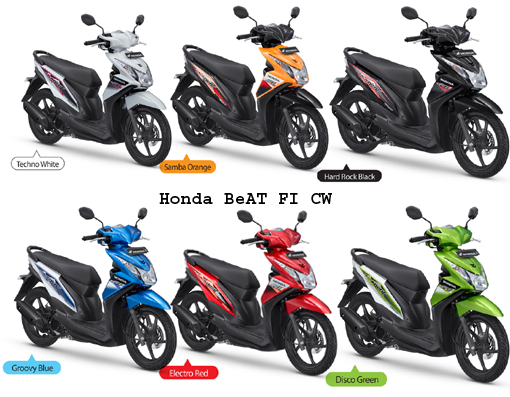 New Honda BeAT FI