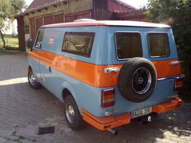 037063a6ed Inside you have your camper equipment and the engine was upgraded to a 1.9  CIH from an Opel Manta that puts out 102hp. It s for sale in Königsfeld