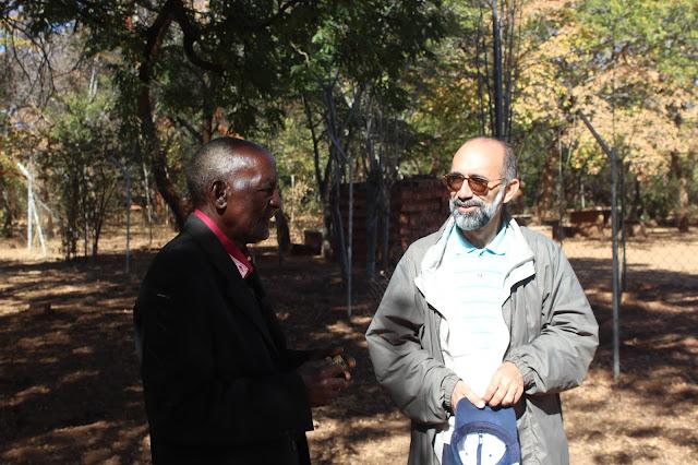 Nemesio Frías en Zimbabue