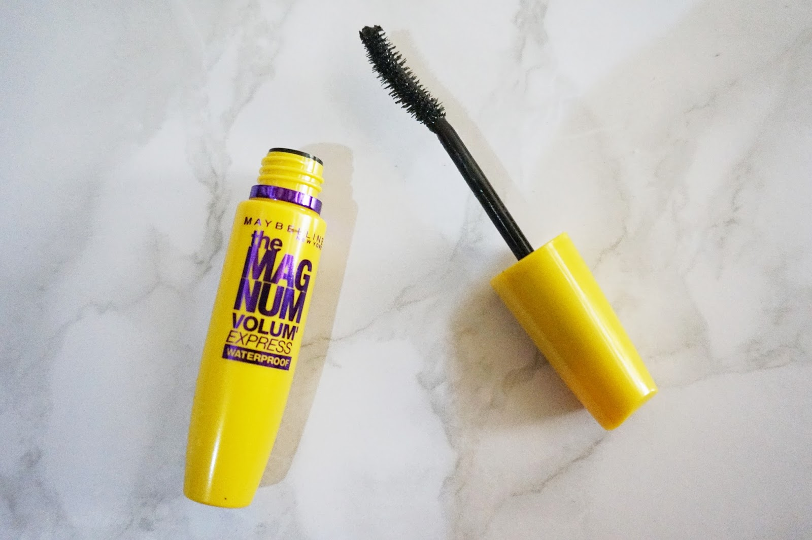 maybelline the magnum volum express waterproof mascara review