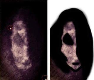 Photo d'une apparition dans la maison de St Osyth filmée par une caméra de surveillance
