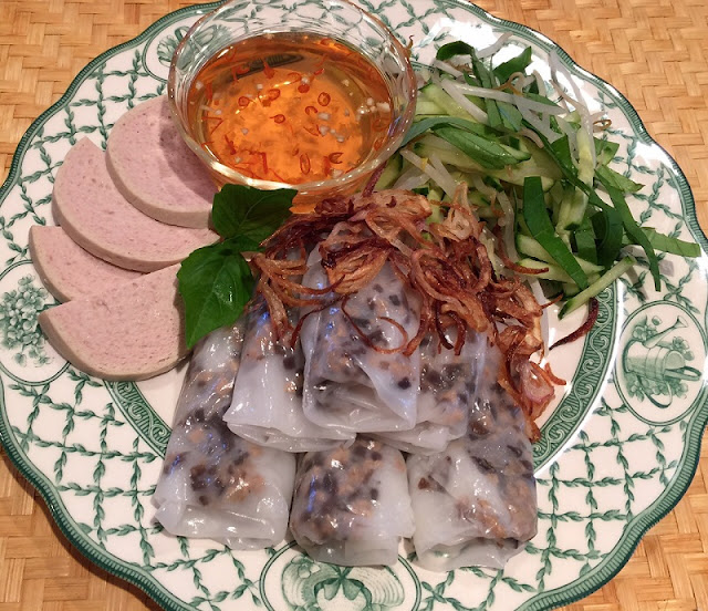 Vietnamese Steamed Rice Rolls - Dishes For A Perfect Breakfast 2