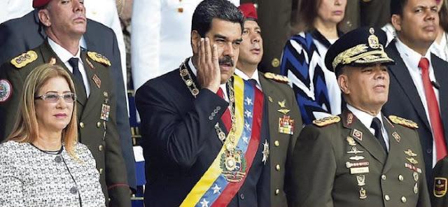 Maduro se aprovecha de ataque con drones para salir de militares incómodos, dicen expertos