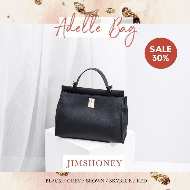 Jims Honey Adele Bag Black