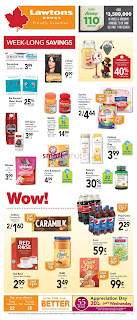Lawtons Drugs Weekly Flyer September 22 - 28, 2017