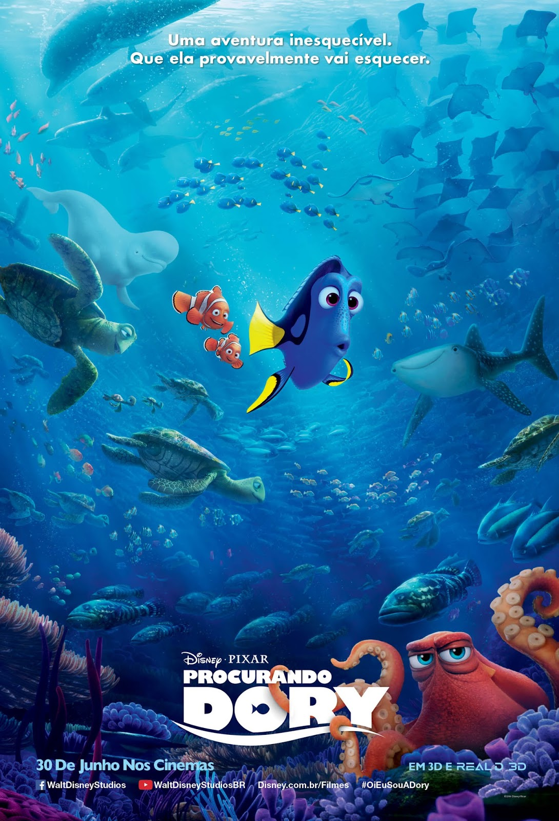 finding dory japanese international poster updated with