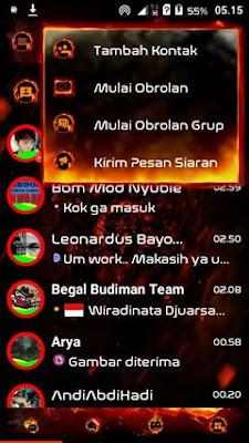 Droid Chat Legend of Fire versi Terbaru 3.0.0.18