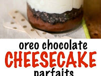 OREO CHOCOLATE CHEESECAKE PARFAITS
