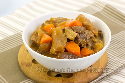Beef Tendon and Brisket Stew02