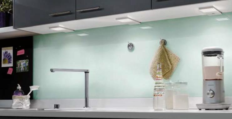 La Iluminacion Integrada En La Cocina Cocinas Con Estilo Ideas - Luces-para-muebles-de-cocina