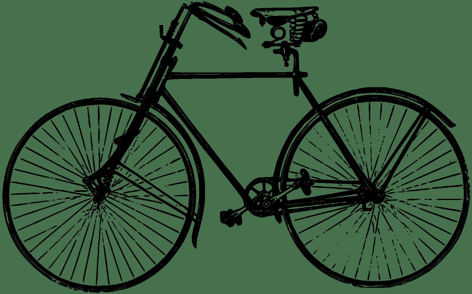 🚲 Bike Clipart Black And White 🚲 - WALLPAPER HD IMAGES for Bicycle Clipart Black And White  177nar