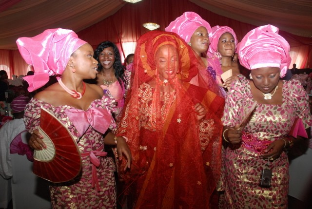 Image result for yoruba wedding reception