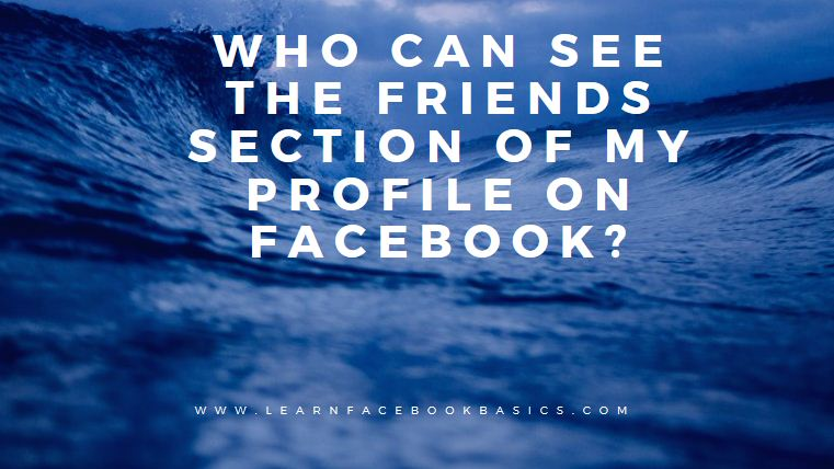 how to know who see my facebook profile