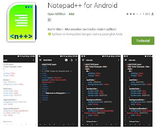 Cara Mengedit File HTML dan PHP di android