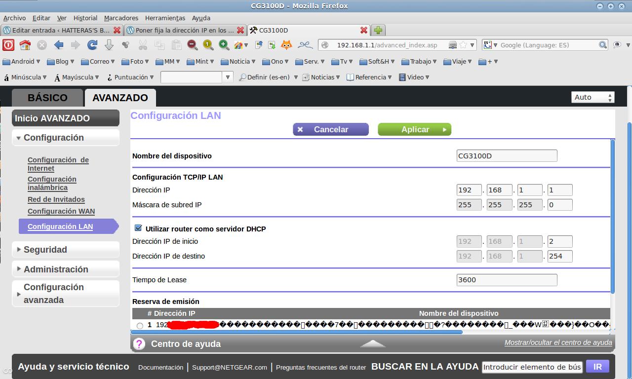 Cómo cambiar la dirección IP en el router netgear : Vpn error 429 no