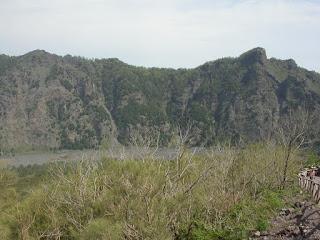 le Monte Somma vu en montant.