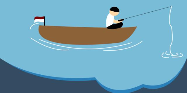 Sepasang Nelayan LENYAP di Laut Nias Utara