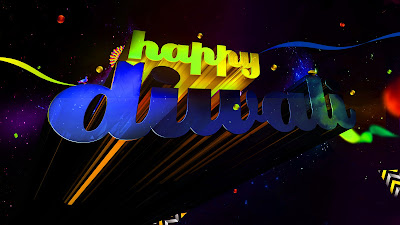 Happy Deepavali Greeting Sms HD Image