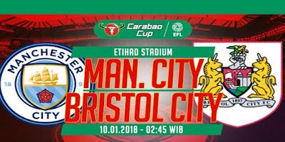 Prediksi Manchester City Vs Bristol City – 10 Januari 2018