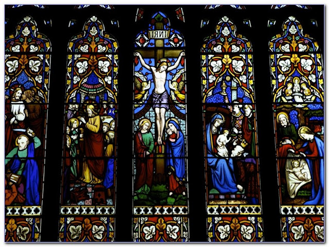 Buy Catholic Church Stained GLASS WINDOWS For Sale online