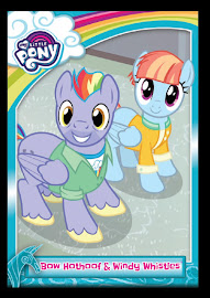 MLP Bow Hothoof & Windy Whistles Series 5 Trading Card