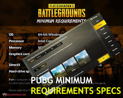Pubg Minimum Requirements Pc and Mobile