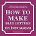 Cara Membuat Tulisan Dengan Font Berbeda di Instagram