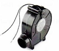 Bentuk fisik dari DC motor untuk air blower