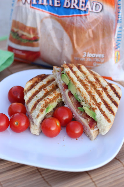 Turkey Bacon Parmesan Panini