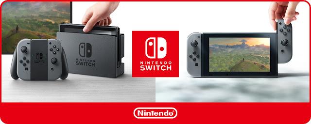 Os mostramos varios vídeos de Nintendo Switch: menú, personalización, arranque..