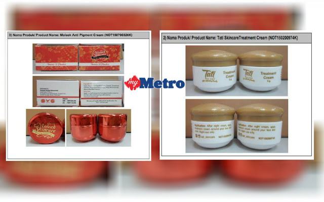 bahaya merkuri dan hidroquinon