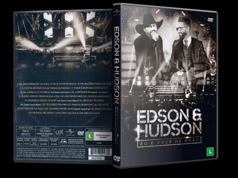 Capa DVD Edson & Hudson: Eu e Você de Novo [Custom]