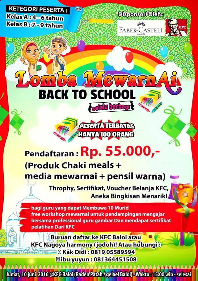 Event Lomba Mewarnai Batam Event