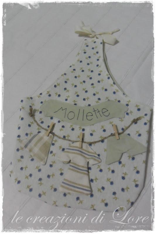 Eccezionale Lore cucito-creativo: PORTAMOLLETTE AH04