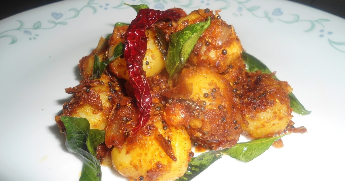 Kini's Kitchen: Fenugreek onion masala potatoes