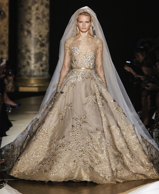 Haute Couture Wedding Gown: The Haute Couture Bridal Gowns: Chanel Vs Elie Saab