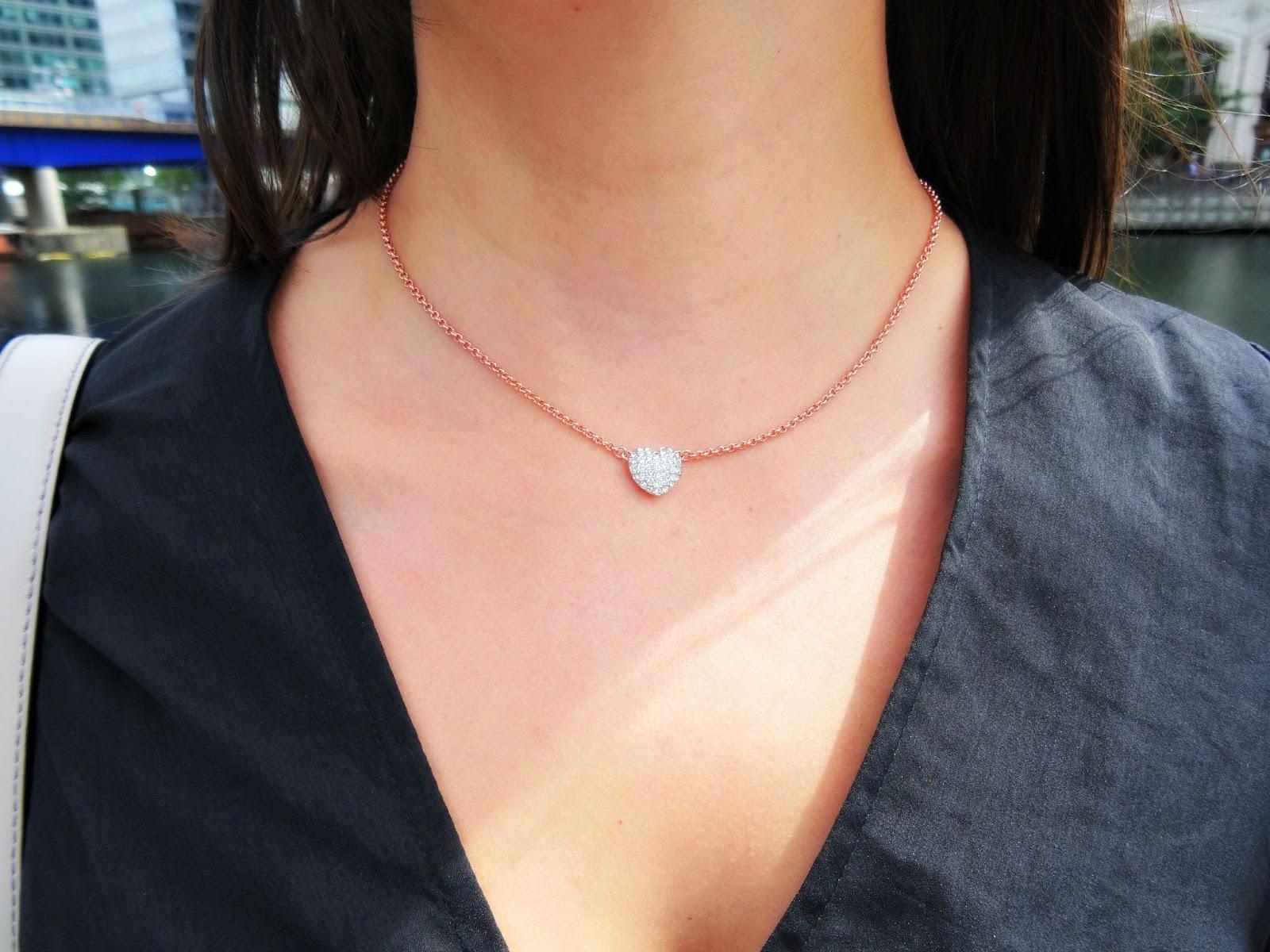 Buckley London Heart Pendant necklace
