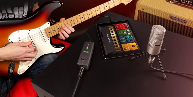 iPhone/iPad用オーディオインターフェイス