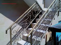 raing tangga besi tempa