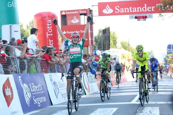 Vicente García de Mateos ganó la etapa y aprieta el cerco al maillot amarillo