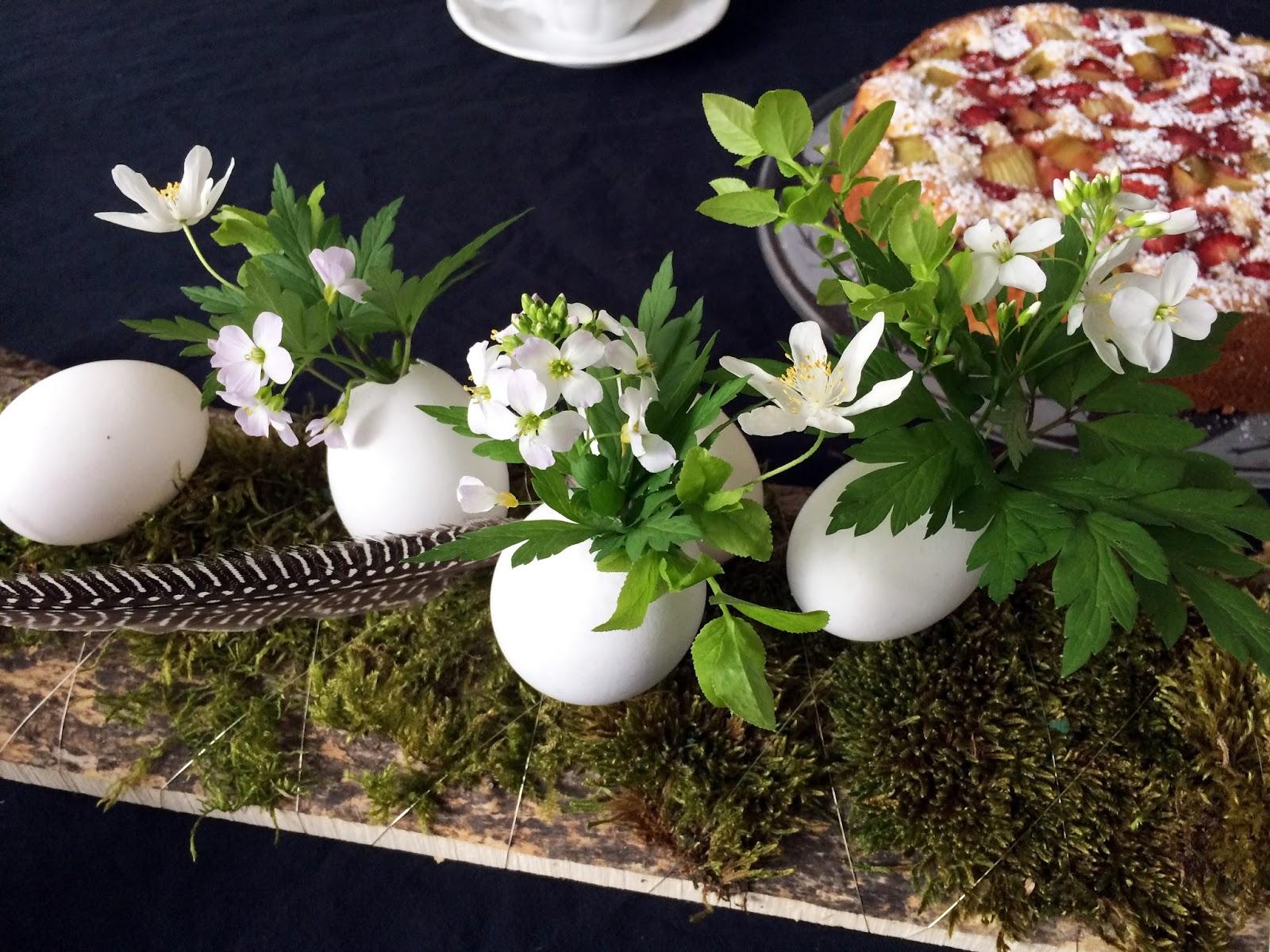 Sehnsuchtssachen Oster Diy Schnelle Tischdeko Mit Ei