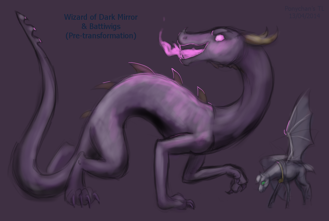 wizard of the dark mirror pre-transformation