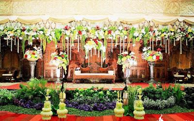 dekorasi pernikahan adat jawa modern terbaru